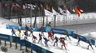 Women's biathlon at Pyeongchane 2018 Winter Olympics