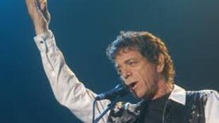 Concierto de Lou Reed en la sala del Grand Rex, París, en 2011.