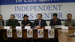 Пресс-конференция Николая Алексеева в Независимом пресс-центре