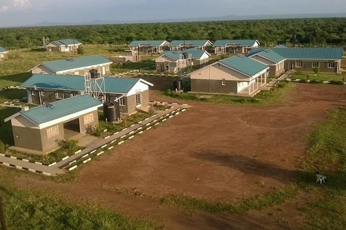 Health facility in the oil-rich district of Buliisa in Uganda constructed with the support of an oil investor