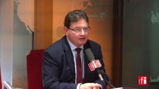 Philippe Gosselin sur RFI le 23 janvier 2018.