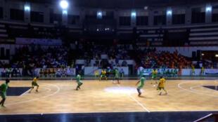 As partidas da Copa Africana de Maracana foram disputadas em um ginásio de Abdijã.