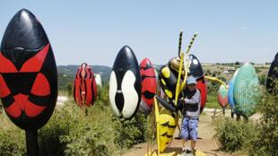 El parque Micrópolis, cerca del pueblo de Saint Léons, en la región de Aveyron, al sur de Francia.