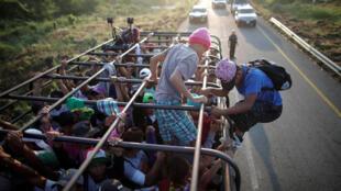 Караван мигрантов выдвинулся 13 октября с севера Гондураса