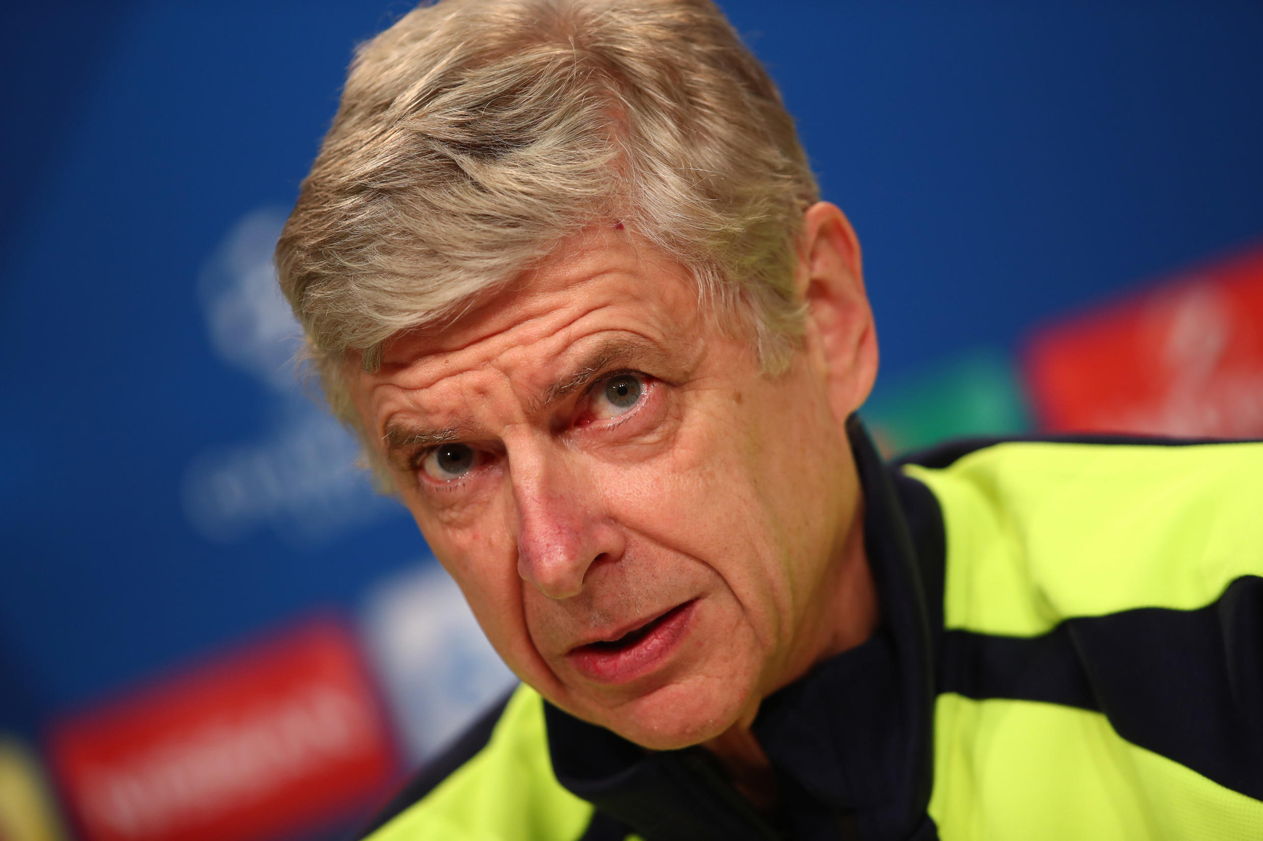 Arsenal manager, Arsene Wenger, said he feared that Arsenal's match would be called off due to the fan disturbances.