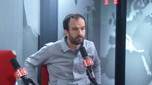 Manuel Bompard sur RFI, le 28 janvier 2019.