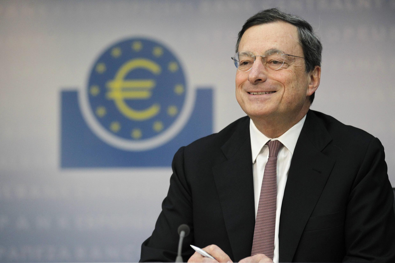 Глава европейского Центробанка Марио Драги 05/07/2012 (архив)