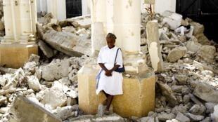 Haïti, après le tremblement de terre.