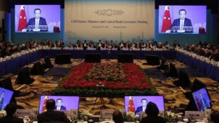 二十国集团财长会议在上海召开