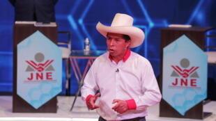 Pedro Castillo Debate Electoral abril 2021