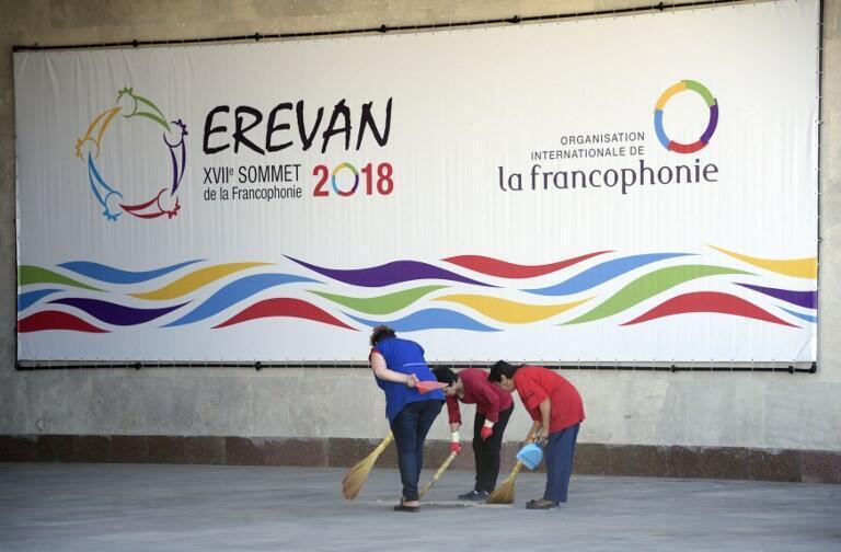 Erevan, la capitale arménienne accueille le 17ème Sommet de la Francophonie.