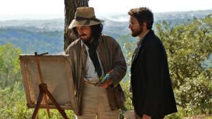 Guillaume Gallienne et Guillaume Canet dans «Cézanne et moi», un film réalisé par Danièle Thompson.