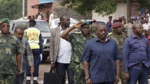 Rais Kabila alipowasili jijini Goma Novemba 30, 2013.