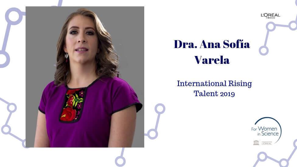 La química Ana Sofía Varela.