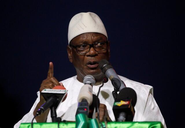 Shugaban kasar Mali Ibrahim Boubacar Keita