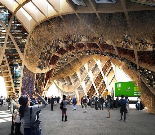 Французский павильон на Всемирной выставке в Милане 2015 года