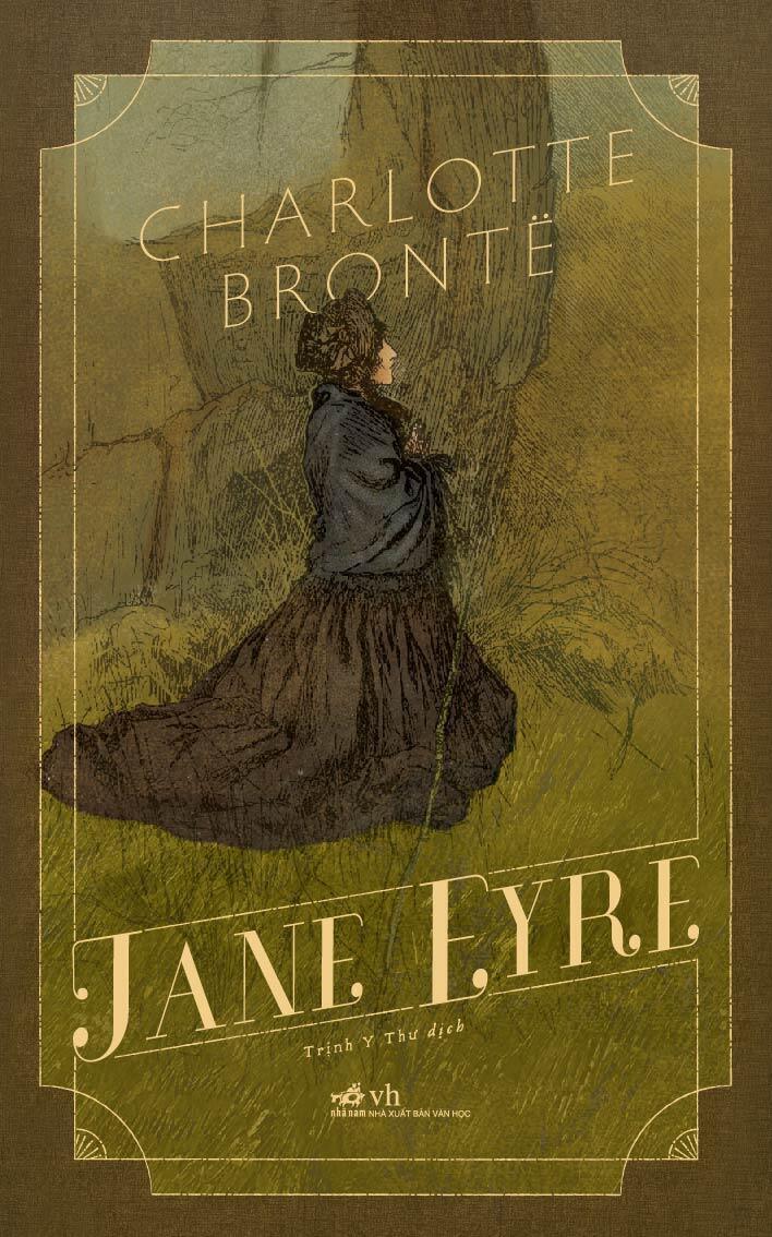 Bìa sách Jane Eyre, dịch giả Trịnh Y Thư, NXB Nhã Nam.