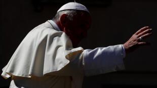 圖為羅馬天主教皇方濟各2018年9月於梵蒂岡