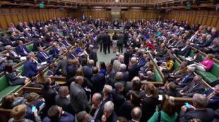 پارلمان بریتانیا, le 14 mars 2019.