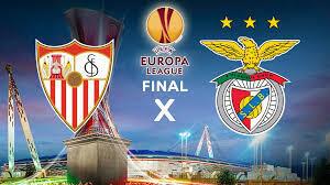 Final da Liga Europa opõe Benfica ao Sevilha.