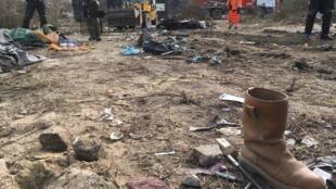 "Zona sul da ""Selva"" de Calais: mil migrantes removidos."