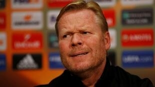 Tsohon mai horar da kungiyar Everton Ronald Koeman.