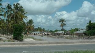 Mji wa Dar es Salaam ukikumbwa na mafuriko kutokana na mvua zinazonyesha, aprili 12 mwaka 2014.