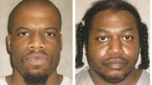 La lente et cruelle agonie de Clayton Lockett  (gauche) a obligé la direction de la prison à reporter l'exécution de Charles Warner (droite), prévue le même jour.