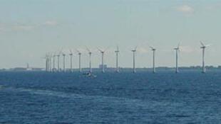 Eoliennes danoises près de Copenhague.