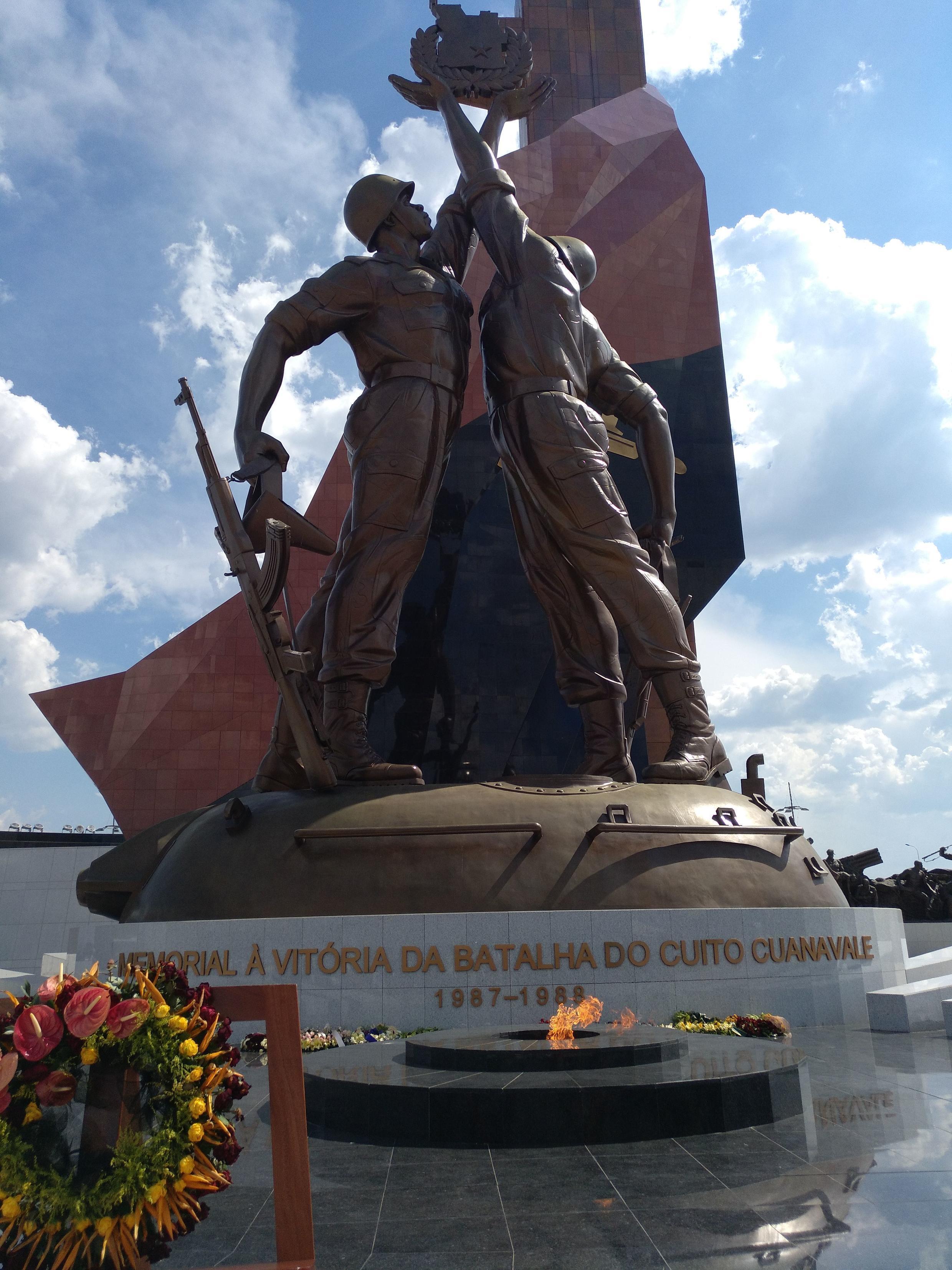 Memorial no Cuito Cuanavale.