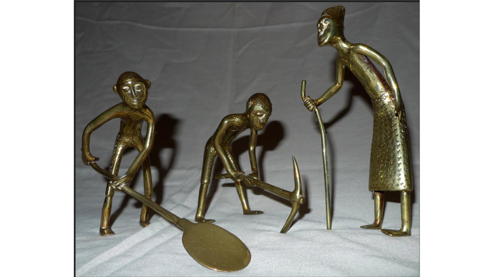 Figurines Bronze Bénin
