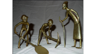 Figurines Bronze Bénin