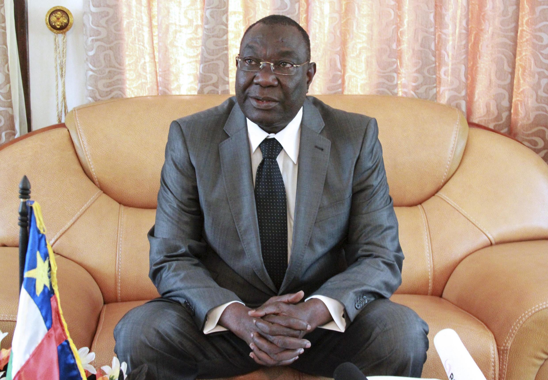 CAR transitional President Michel Djotodia