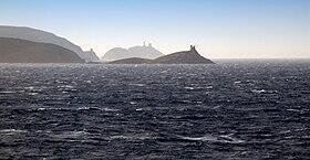 科西嘉島的三個塔
