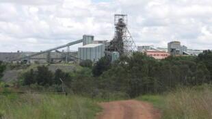 La Mine de Diamant de Cullinan en Afrique du Sud.