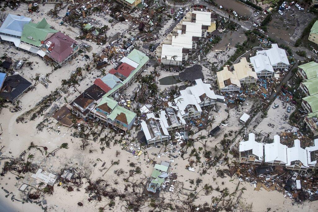 La Baie-Orientale, le 6 septembre après Irma.