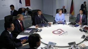 Cimeira anual do G7 em Biarritz