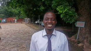 Pouya Thierry, ingénieur agronome, responsable de la filière sésame au ministère de l'Agriculture à Ouagadougou