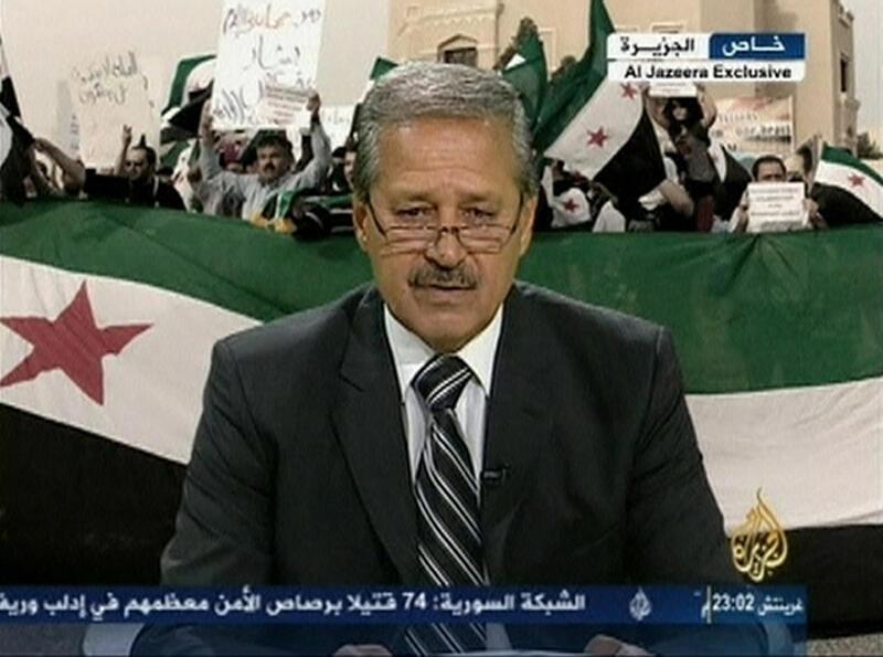 叙利亚驻伊拉克大使法雷斯宣布反戈