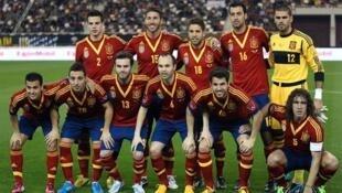 'Yan wasan kasar Spain