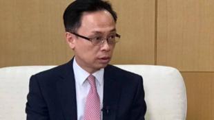 香港特区政府公务员事务局局长聂德权资料图片