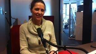 Olga Prud'homme Farges à RFI.