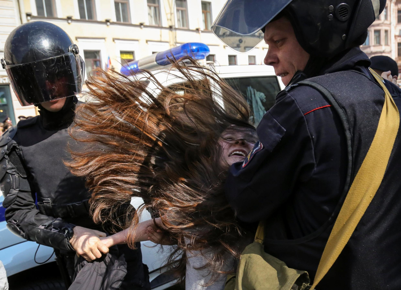 Задержания в Санкт-Петербурге 1 мая 2019 были самыми многочисленными