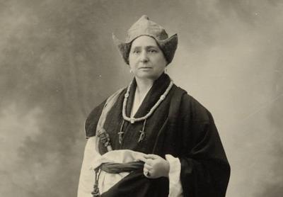 Alexandra David-Néel.