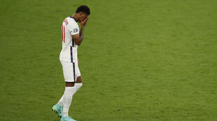 England manager Gareth Southgate condemned as unforgivable the racial abuse directed at Marcus Rashford and two team-mates after they missed penalties in the Euro 2020 final shoot-out defeat by Italy