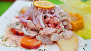 El ceviche forma parte de la gastronomía de los países latinoamericanos litorales del Océano Pacífico.