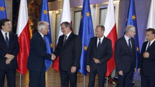 La Pologne a pris la présidence tournante du Conseil de l'Union européenne le 1er juillet 2011.