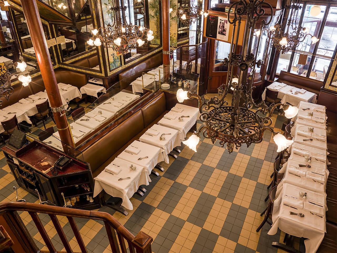 Исторические рестораны Парижа. Ресторан Lipp, бульвар Сен-Жермен.