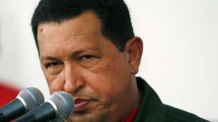 Hugo Chávez,  presidente de Venezuela. (foto de archivos)