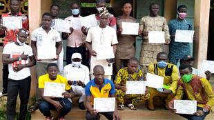 Bénin - Club RFI Ouaké - vacances apprenantes - enseignement